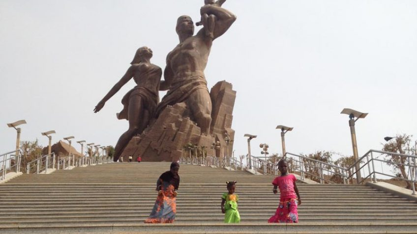Visit and activities in Dakar